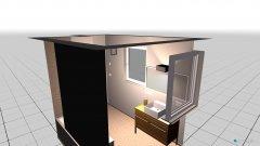 Raumgestaltung neue Whg Badezimmer in der Kategorie Badezimmer
