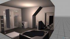Raumgestaltung neues bad in der Kategorie Badezimmer