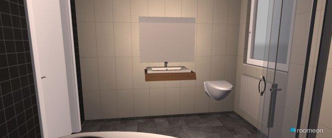 Raumgestaltung Nummer 1 in der Kategorie Badezimmer