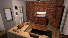 Raumgestaltung obývačka in der Kategorie Badezimmer