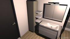 Raumgestaltung oberes Bad in der Kategorie Badezimmer