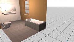 Raumgestaltung Obertraun OG in der Kategorie Badezimmer