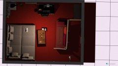 Raumgestaltung obyvačka  in der Kategorie Badezimmer