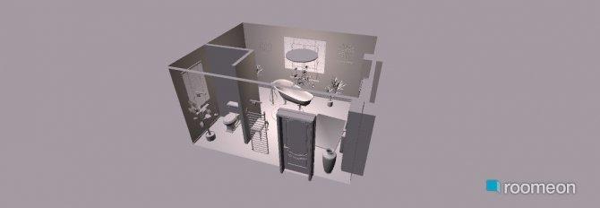 Raumgestaltung OG~Bad in der Kategorie Badezimmer