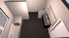 Raumgestaltung OG_Bad in der Kategorie Badezimmer