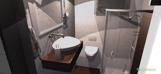 Raumgestaltung parterlazienka in der Kategorie Badezimmer