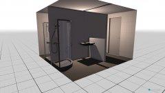 Raumgestaltung Pioneer Dusche in der Kategorie Badezimmer