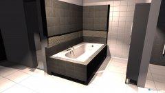 Raumgestaltung Plan 1 in der Kategorie Badezimmer