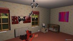 Raumgestaltung pokój dziwczynki in der Kategorie Badezimmer