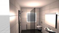 Raumgestaltung Projekt in der Kategorie Badezimmer
