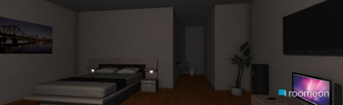 Raumgestaltung projeto quarto de casal in der Kategorie Badezimmer