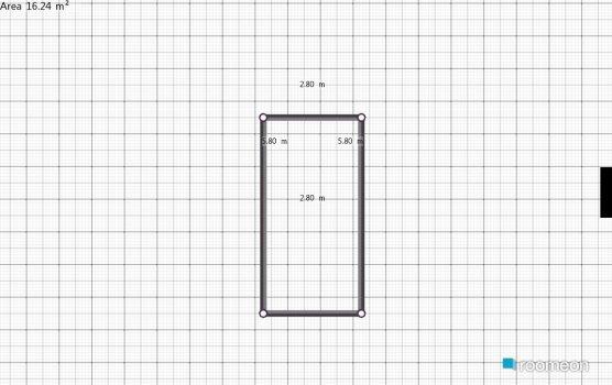 Raumgestaltung quartomatheus 3x6 in der Kategorie Badezimmer