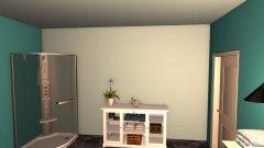 Raumgestaltung Red Lotus Badezimmer in der Kategorie Badezimmer