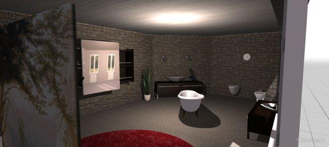 Raumgestaltung Roberts badezimmer in der Kategorie Badezimmer