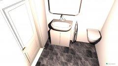 Raumgestaltung salle de bain esther in der Kategorie Badezimmer