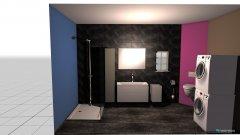 Raumgestaltung schlumpfi2 in der Kategorie Badezimmer
