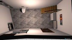 Raumgestaltung schuppen in der Kategorie Badezimmer