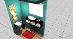 Raumgestaltung Small Bathroom in der Kategorie Badezimmer