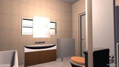 Raumgestaltung Smart Badezimmer in der Kategorie Badezimmer