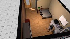 Raumgestaltung Sypialnia in der Kategorie Badezimmer