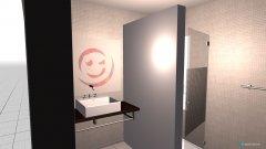 Raumgestaltung Tim und Tascha Duschbad in der Kategorie Badezimmer