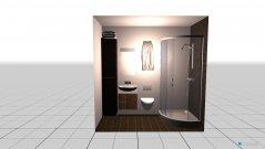 Raumgestaltung Toilet SB1 in der Kategorie Badezimmer