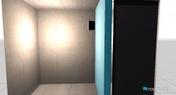 Raumgestaltung Toilette in der Kategorie Badezimmer