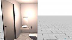 Raumgestaltung unten bad in der Kategorie Badezimmer