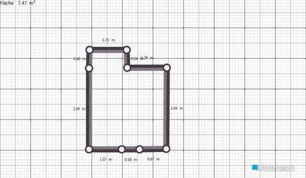 Raumgestaltung Unteres Bad in der Kategorie Badezimmer