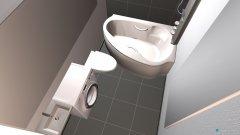 Raumgestaltung vannas istaba in der Kategorie Badezimmer