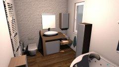 Raumgestaltung Varianta 1 kopalnica in der Kategorie Badezimmer