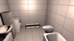 Raumgestaltung Variante 1 in der Kategorie Badezimmer