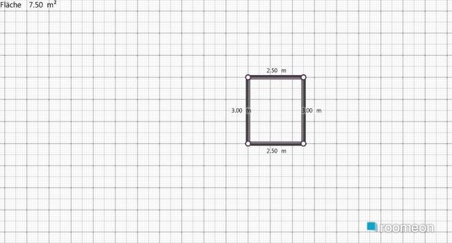 Raumgestaltung Variante Hausarbeit-Badezimmer in der Kategorie Badezimmer