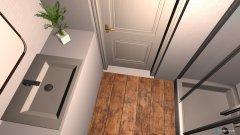 Raumgestaltung Verplantes kleines Bad Neubau 2 in der Kategorie Badezimmer
