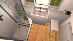 Raumgestaltung Verplantes kleines Bad Neubau in der Kategorie Badezimmer