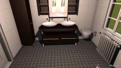 Raumgestaltung Versuch1 in der Kategorie Badezimmer