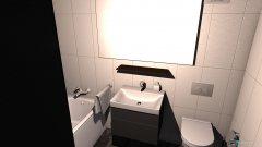 Raumgestaltung Wannenbad in der Kategorie Badezimmer