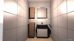 Raumgestaltung Waschbeckenbereich in der Kategorie Badezimmer