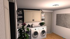 Raumgestaltung Waschraum in der Kategorie Badezimmer