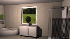 Raumgestaltung Wash in der Kategorie Badezimmer