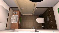 Raumgestaltung WC OG in der Kategorie Badezimmer