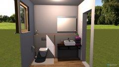 Raumgestaltung WC ohne Dusche in der Kategorie Badezimmer