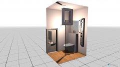 Raumgestaltung WC1 in der Kategorie Badezimmer