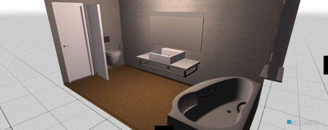 Raumgestaltung wc in der Kategorie Badezimmer