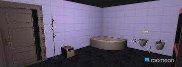Raumgestaltung white bath in der Kategorie Badezimmer
