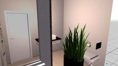 Raumgestaltung WMR BAD mit WC in der Kategorie Badezimmer