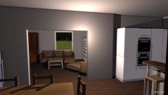 Raumgestaltung Wohnküche2 in der Kategorie Badezimmer