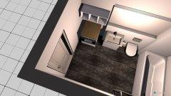 Raumgestaltung Wohnung 10 - Bad in der Kategorie Badezimmer