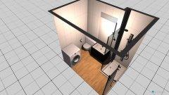 Raumgestaltung Wohnung 3 in der Kategorie Badezimmer