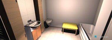 Raumgestaltung Wohnung nr. 3 in der Kategorie Badezimmer